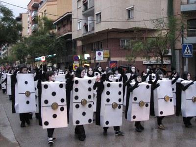 Comencen els preparatius del Carnaval 2008.