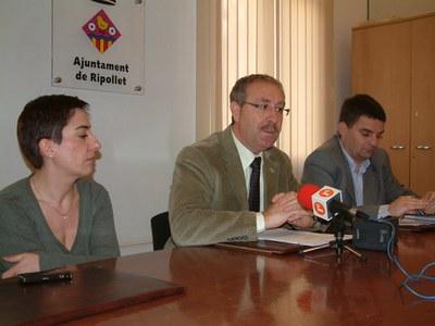 L'equip de govern destaca el bon clima polític i social de 2007.