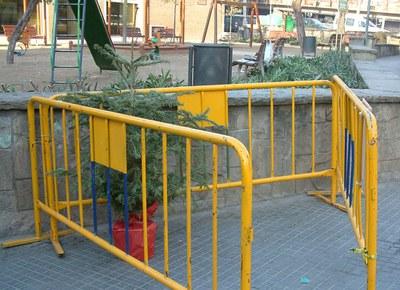 S'habiliten punts de recollida d'arbres de Nadal.