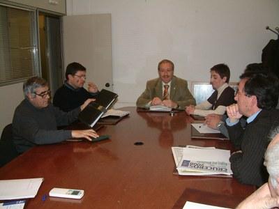 La Comissió del tren prepara la trobada amb el director general de la ATM.