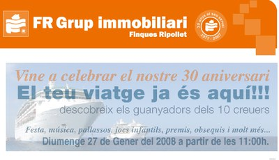 30è aniversari de Finques Ripollet.