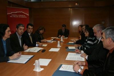 Els ajuntaments del Vallès continuen el treball conjunt per a la millora de les infraestructures.