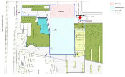Comencen les obres del nou pàrquing al parc del Riu Ripoll.
