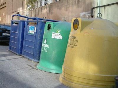 Els ripolletencs cada cop reciclen més.
