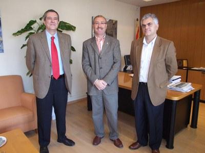 Ripollet acomiada al comissari Àngel Fernández, després de 10 anys de servei.