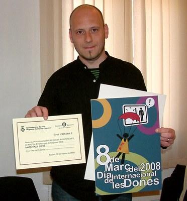El barceloní David Valls guanya el concurs de cartells del Dia de les Dones.