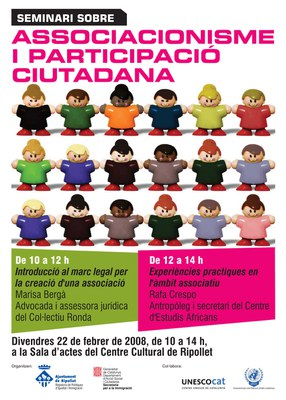 Jornades sobre Associacionisme i Participació Ciutadana al Centre Cultural.