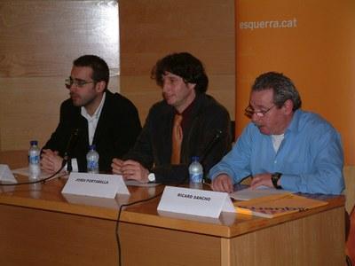 ERC obre els actes públics de campanya electoral.