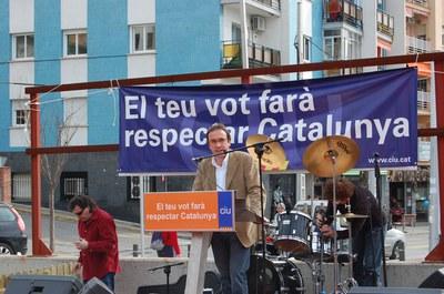 Convergència i Unió de Ripollet porta a la plaça del Molí les seves propostes electorals.