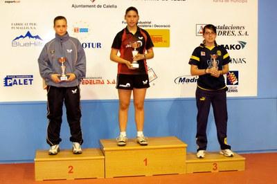 Berta López primera per equips i tercera en individuals.