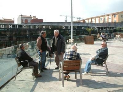 Comencen les obres de la segona fase de l'entorn de la plaça de Pere Quart.