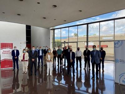 El Grup Impulsor del Pacte per la Reindustrialització, a Barberà del Vallès. Foto: Consell Comarcal del Vallès Occidental..