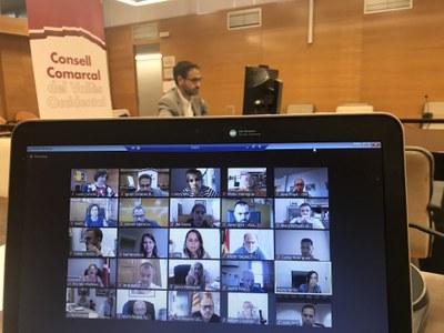 """El Consell d'Alcaldies del Vallès Occidental reclama """"més coordinació"""" entre la Generalitat i els municipis per fer front a la COVID-19."""