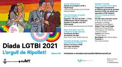 Cartell de la Diada LGTBI.