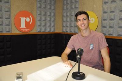 Llorenç Álvarez, patinador del CPA Ripollet, debuta aquest dilluns en el Campionat del Món de patinatge artístic.