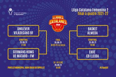 Ripollet acull els dies 25 i 26 de setembre la final de la Lliga Catalana Femenina 2.
