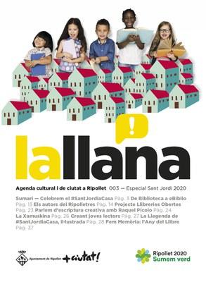 Revista lallana núm. 003 - abril de 2020 - #SantJordiaCasa