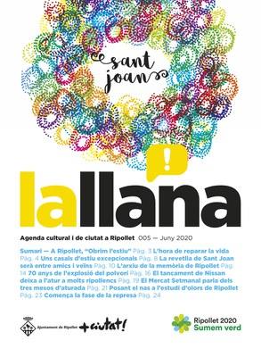 Revista lallana núm. 005 - juny de 2020 - Obrim l'estiu Sant Joan