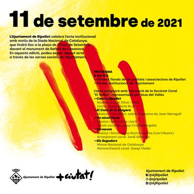 Acte institucional de la Diada Nacional de Catalunya.