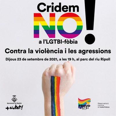 Ripollet crida NO a l'LGTBI-fòbia.