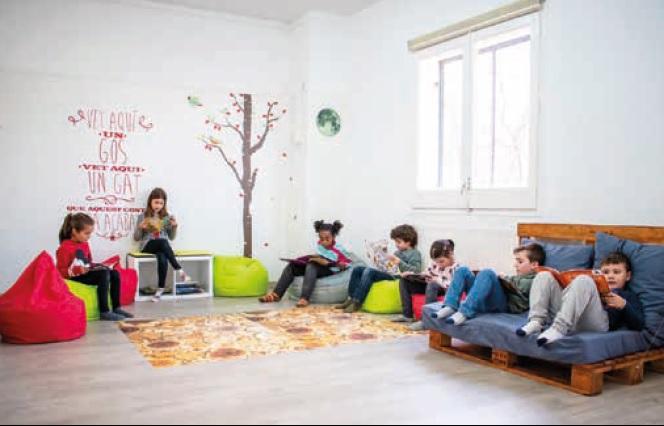 Escola Anselm Clavé imatge de l'interior