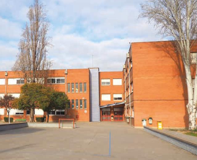 Institut Lluís Companys Imatge de la façana