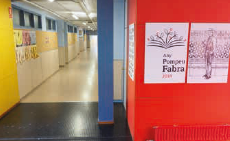 Institut Palau Ausit, imatge de l'interior
