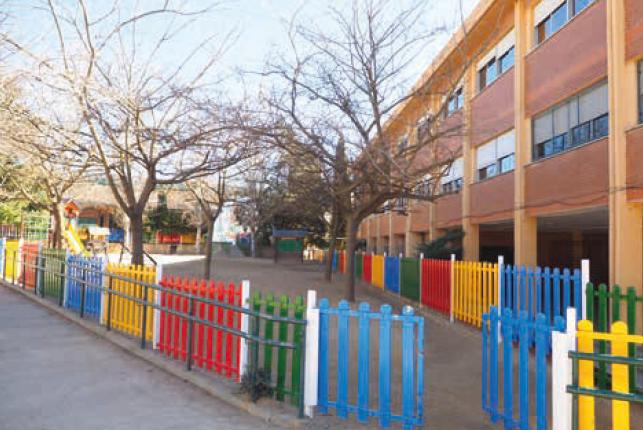 Escola Enric Tatché imatge de la façana