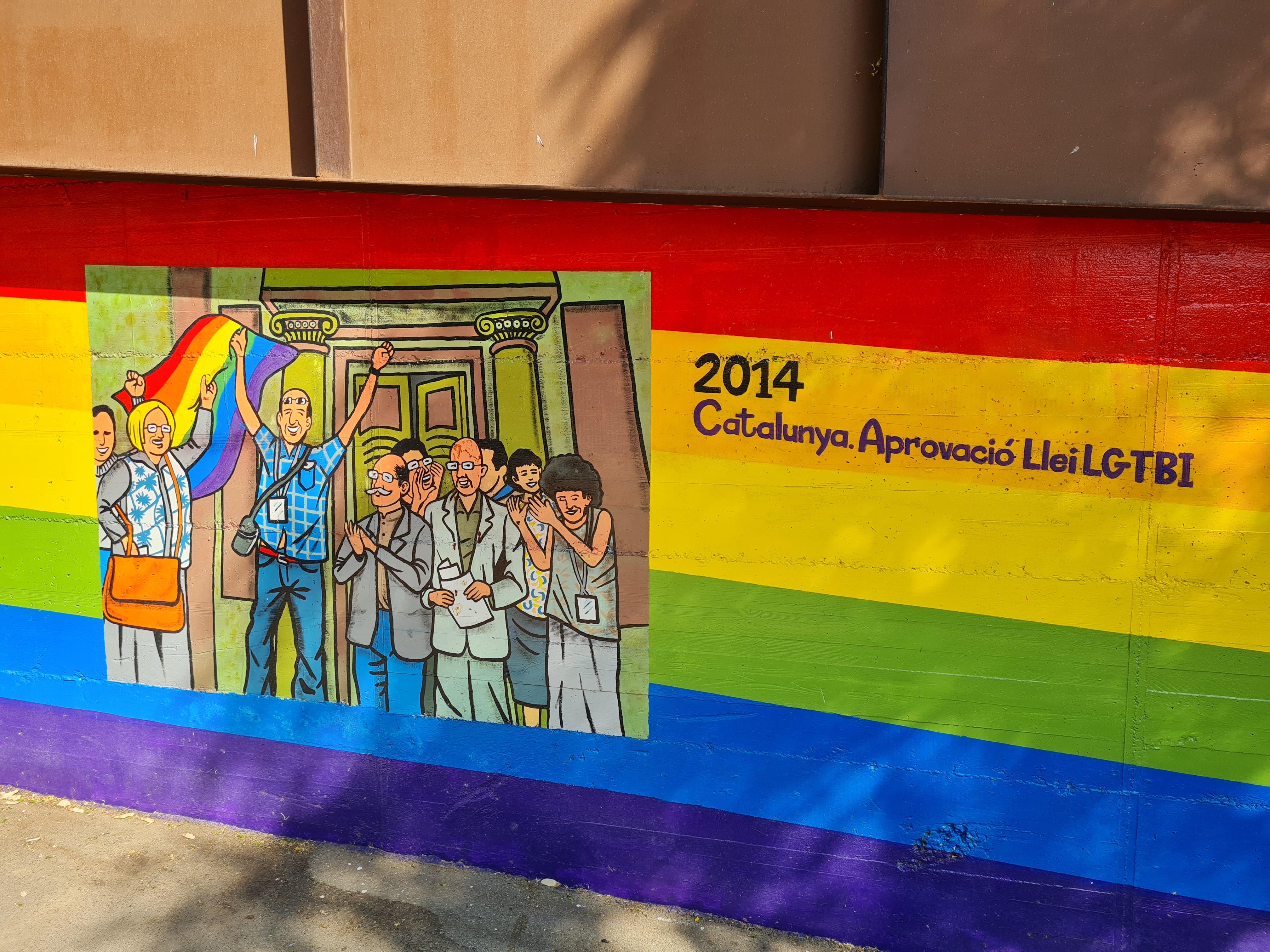 Aprovació llei LGTBI Catalunya